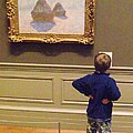 Budding Art Enthusiast by Michelle Welles