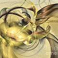Budding Fruit - Abstract Art by Sipo Liimatainen