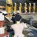 Buddist Shrine by Sally Weigand