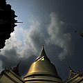 Budhist Temple In Bangkok Thailand by Dray Van Beeck