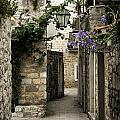 Budva Old Town Street Montenegro by Jacek Malipan