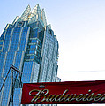 Budweiser And Building  by Kristina Deane