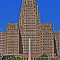 Buffalo Marathon 2013 City Hall View  by Michael Frank Jr