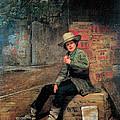 Buffalo Newsboy by Thomas Le Clear