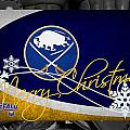 Buffalo Sabres Christmas by Joe Hamilton