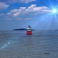 Bug Light In Plymouth Ma by Janet Depathy