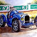 Bugatti 35b by Anne Dalton