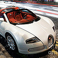 Bugatti Is Art In Motion  by Marvin Blaine