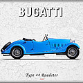 Bugatti Type 44 1927 by Mark Rogan