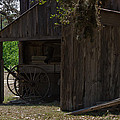 Buggy And Barn by Ed Gleichman
