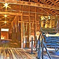 Buggy In The Barn by Alice Gipson