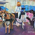 Buggy On Bourbon Street by Beverly Boulet