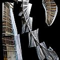 Building Desending A Staircase - 200050 by TNT Images