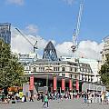 Building Work In The City Of London by Julia Gavin
