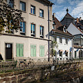 Buildings Along Canal, Altstadt by Panoramic Images
