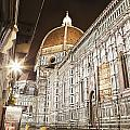 Buildings And Florence Cathedral by Alexander Macfarlane