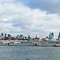 Buildings At The Waterfront, Thames by Panoramic Images