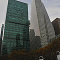 Buildings Behind Bryant Park by Mike Martin