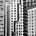 Buildings Bw by Bruce Bain