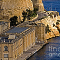 Buildings By The Mediterranean Sea by Tim Holt