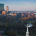 Buildings In A City, Boston Common by Panoramic Images