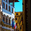 Buildings In Florence Italy by Phill Petrovic