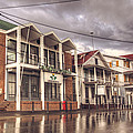 Buildings In Paramaribo by Lionel Emanuelson