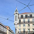 Buildings In The Chiado Neighbourhood Of Lisbon by Artur Bogacki
