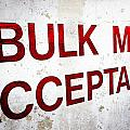 Bulk Mail Acceptance by Sennie Pierson