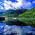 Bull Lake In Fall by Randy Beacham