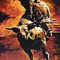 Bull Riding Hall Of Fame by Tim  Joyner