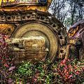 Bulldozer Retirement by David B Kawchak Custom Classic Photography
