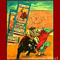 Bullfight Poster by John Malone