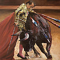 Bullfighter by Chieko Amadon