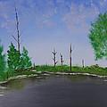 Bullfrog Reservoir by Jennifer Muller