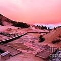Bumpass Hell Sunset by Adam Jewell
