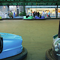 Bumper Cars At Monte Igueldo Amusement by Panoramic Images