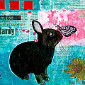Bun And Butterfly by Penny Collins