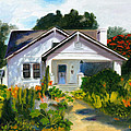 Bungalow In Sunlight by Jill Ciccone Pike