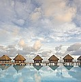 Bungalows Over Ocean II by M Swiet Productions
