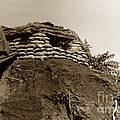 Bunker Above The Dak Poko River Near Dak To Kontum Province Vietnam 1968 by California Views Mr Pat Hathaway Archives
