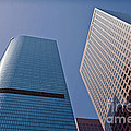 Bunker Hill Financial District California Plaza by David Zanzinger