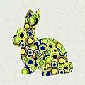 Bunny - Animal Art by Anastasiya Malakhova