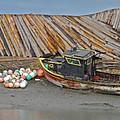 Buoy Spill by Rick  Monyahan
