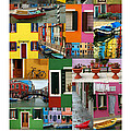 Burano Italy Poster by Mike Nellums