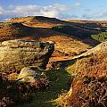 Burbage Rocks by Darren Galpin