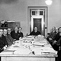 Bureau Of Navigation Meeting by Underwood Archives