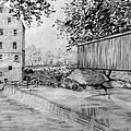 Burfordsville Bridge And Bollinger Mill by James Pinkerton