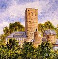 Burg Blankenstein Hattingen Germany by Bill Holkham