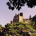Burg Katze Castle On The Rhine by John Malone